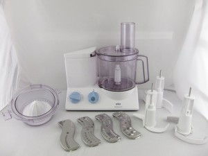 Braun K650 Multiquick 600-watt Kitchen Machine Food Processor