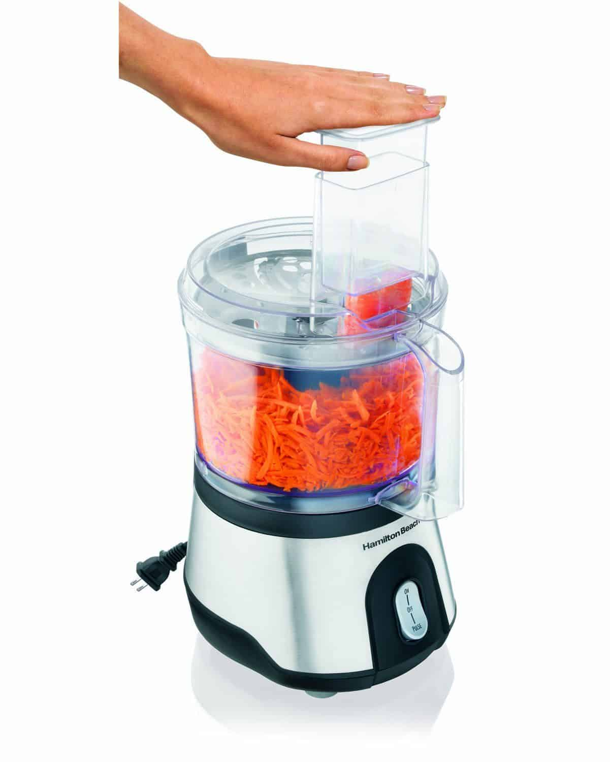 Hamilton Beach 10 Cup Food Processor with Compact Storage review