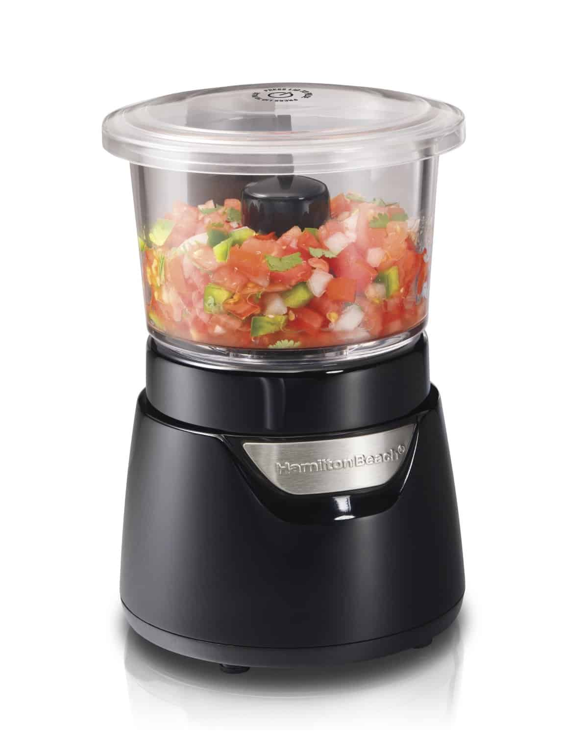 Hamilton Beach 72860 Stack and Press 3-Cup Glass Bowl Chopper