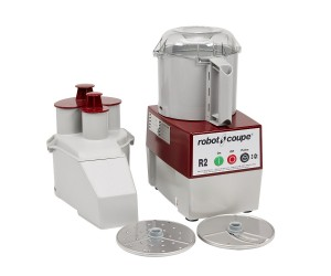 Robot Coupe R 2 N Continuous Feed Combination Food Processor with 3 Quart Bowl
