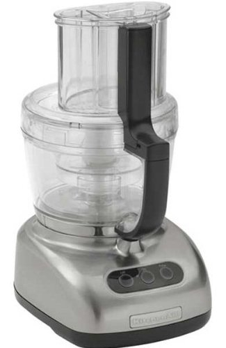 Comparison Of  Cup Kitchen Aid And Cuisinart Food Processors