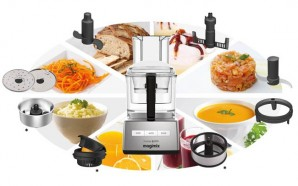 3 Common Types of Food Processors