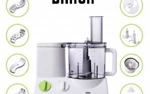 BRAUN FP3020 12-Cup food processor review