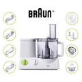 Braun FP3020 Ultra Quiet 12 Cup Food Processor review