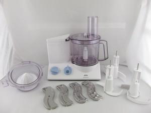 Braun K650 Multiquick 600-watt Kitchen Machine Food Processor review