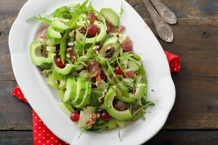 Avocado-Grape-Salad