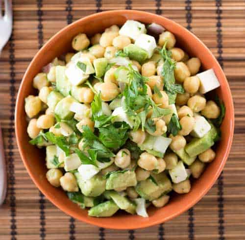 chickpea-avocado-salad-diced