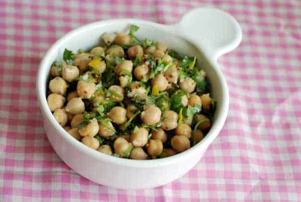 chickpea-cilantro-salad